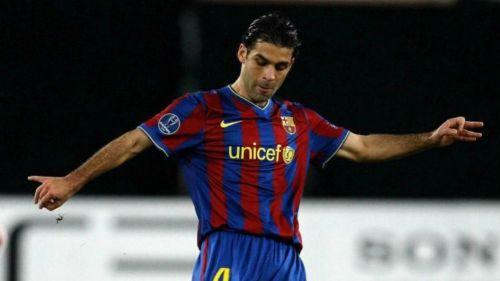 Rafael Márquez, en su etapa como jugador del Barcelona