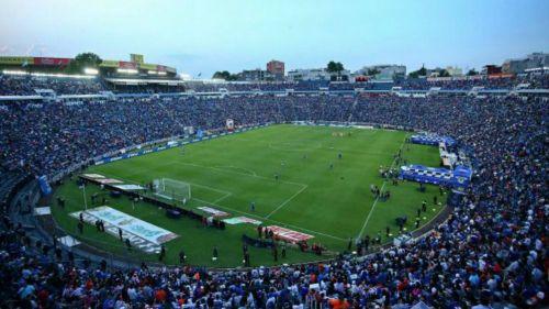 Estadio Azul previo a un juego de Cruz Azul