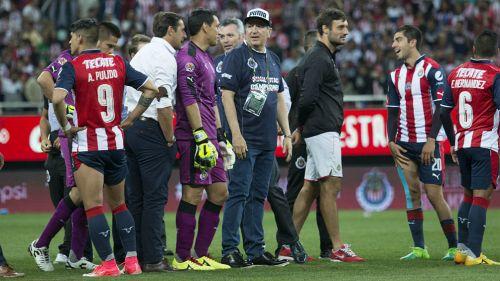 Chivas vs América de la J10 Liga MX — Fotogaleria