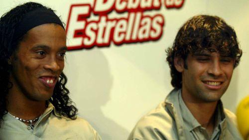 Rafa Márquez recibe fuertes elogios de Ronaldinho