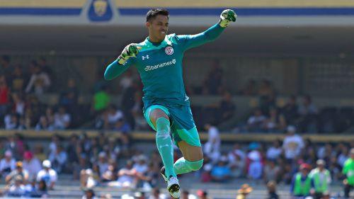 Talavera celebra un gol del Toluca