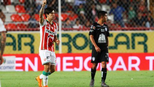 Necaxa viene de atrás y rescata el empate ante Pachuca