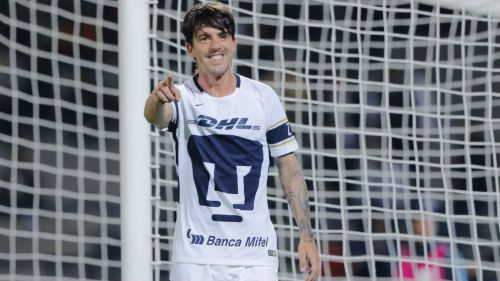 Formica celebra gol con Pumas en Copa MX