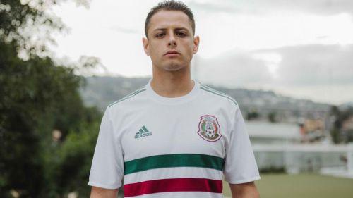 Chicharito luce el nuevo jersey del Tri 17da56dc5b13a