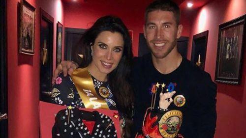 Sergio Ramos anunció la llegada de su tercer hijo