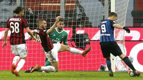 El increíble gol que falló Icardi en el clásico de Milán