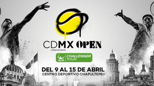 CDMX Open contará con tenistas de experiencia y promesas