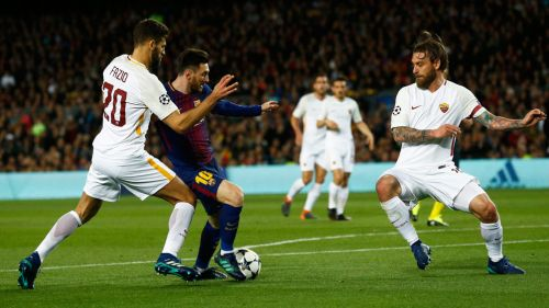 Grandes remontadas en la Champions League — Roma vs Barcelona