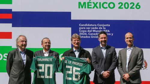 Mundial en México cuenta con apoyo de la CONMEBOL