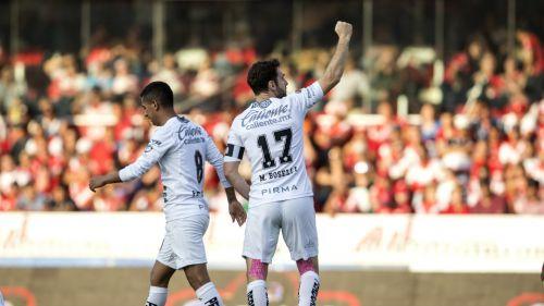 Boselli festeja gol contra Veracruz