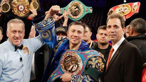 Golovkin orgulloso de defender su título el 5 de Mayo