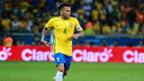 Pierde Brasil a Dani Alves para el Mundial Rusia 2018