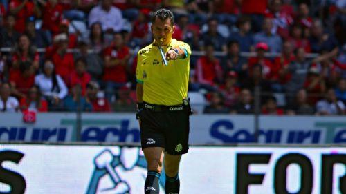 Jorge Antonio Pérez Durán en un juego del Clausura 2018