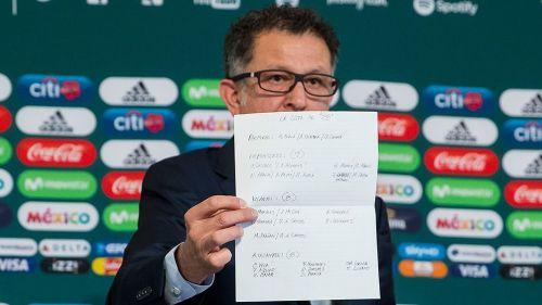 Juan Carlos Osorio muestra su lista de 28 jugadores