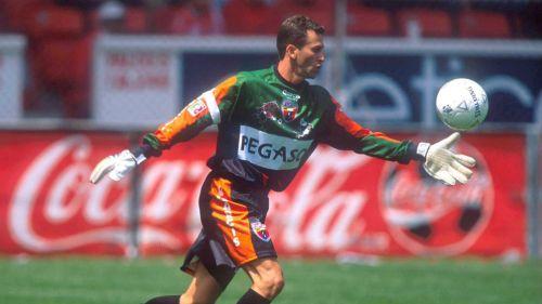 Félix Fernández, en un juego con Atlante