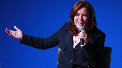 Margarita Zavala durante conferencia