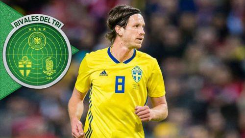 Gustav Svensson en juego con Suecia