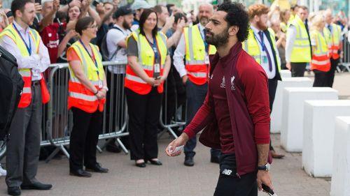 Salah sufre lesión en el hombro y dejá la final de Champions