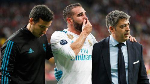 Salah, estrella del Liverpool, sustituido tras lesionarse el hombro izquierdo