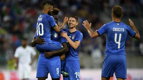 Italia sufre para ganar a una Arabia Saudí valiente