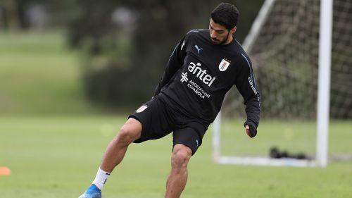Luis Suárez lloró y lamentó la ausencia de Lodeiro del Mundial