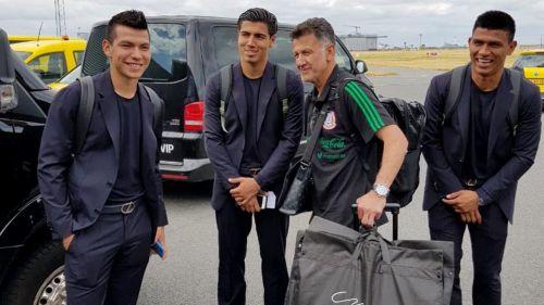 Selección Mexicana ya está en Rusia