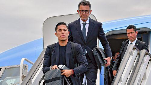 La selección mexicana llega a Rusia para disputar el mundial