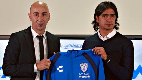 El Pachuca presenta a Pako Ayestarán como su nuevo entrenador