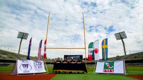 Estadio Olímpico Universitario sede del Mundial de futbol americano