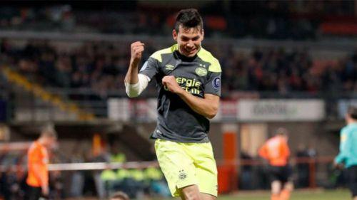 Chucky Lozano, con nuevo DT en PSV tras salida de Phillip Cocu
