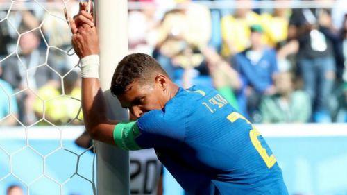 Neymar insultó a Thiago Silva en pleno partido ante Costa Rica