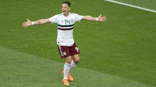 Chicharito: un gol, tres marcas históricas y jugador del partido