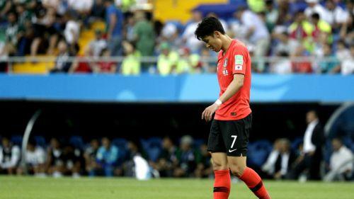 Son Heung-min lamenta derrota frente a México