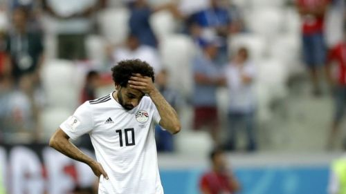 Salah, triste tras perder contra Arabia Saudita