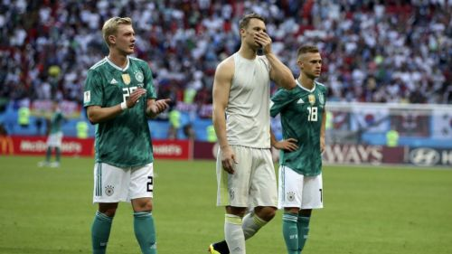 Alemanes en lamento tras perder contra Corea del Sur