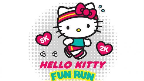 Promocional de la carrera Hello Kitty Fun Run