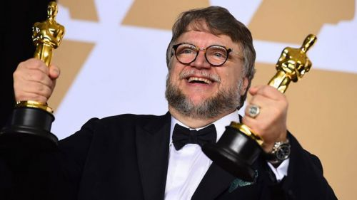 Del Toro, con sus dos Oscar por 'The Shape of Water'