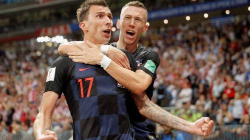 Mandzukic celebra su anotación contra Inglaterra