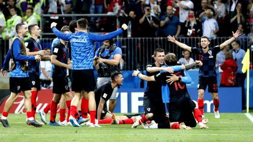 Croacia festeja pase a la Final de Rusia 2018