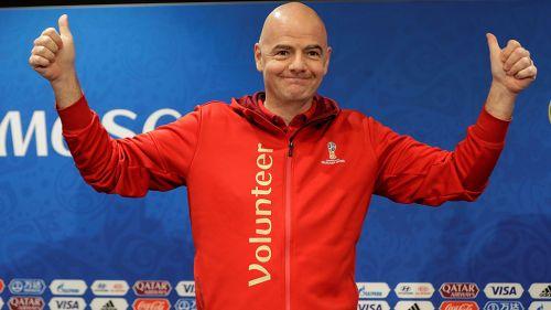 Rusia traspasa autoridad a Catar para albergar Copa Mundial 2022