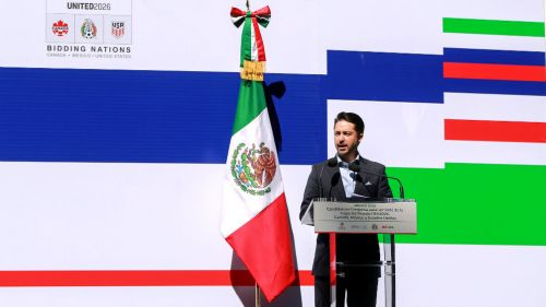 Yon de Luisa, nuevo presidente de la Federación Mexicana de Fútbol