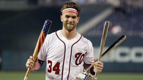 Bryce Harper, el nuevo campeón del Home Run Derby