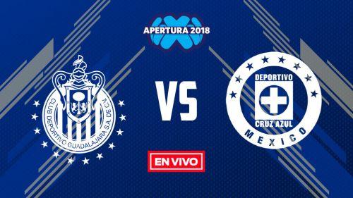 69eb94acf Chivas vs Cruz Azul Liga MX Jornada 2 Apertura 2018 en vivo y en directo