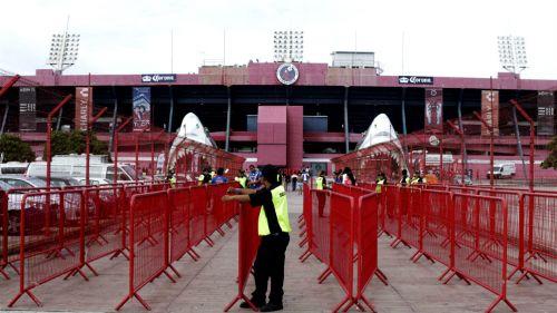 Momentos previos al duelo entre Veracruz y Monarcas en la J3