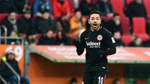 Marco Fabián juega 78 minutos en la derrota del Eintracht Frankfurt