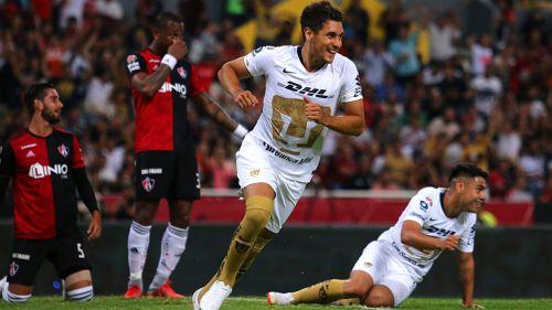 Kevin Escamilla abrió el camino del triunfo de Pumas en el Jalisco vs Atlas