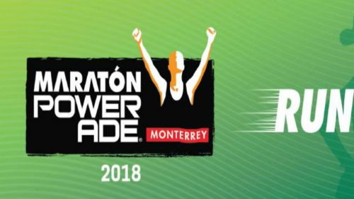 Anuncio promocional del Maratón de Monterrey