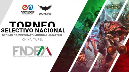 La Federación Nacional de Deportes Electrónicos creará la primera selección mexicana de esports