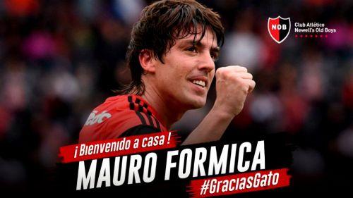 Newell's Old Boys oficializa llegada de Mauro Formica
