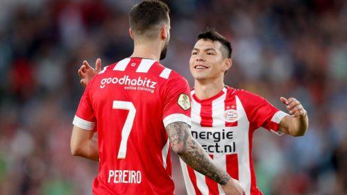 Hirving Lozano, nuevo goleador mexicano de la Eredivisie